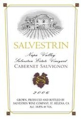 Salvestrin Winery Estate Cabernet Sauvignon 2006