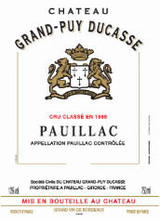 Chateau Grand-Puy Ducasse Pauillac 2009