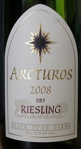 Black Star Farms Arcturos Dry Riesling 2008