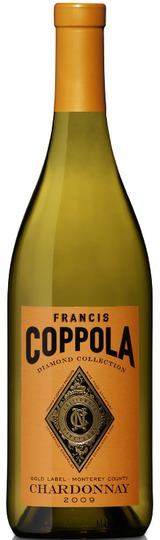 Francis Ford Coppola Diamond Series Gold Label Chardonnay 2009