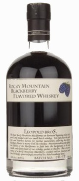 Leopold Brothers Rocky Mountain Blackberry Whiskey