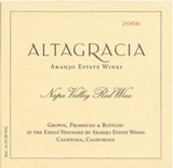 Araujo Altagracia Red Wine 2006