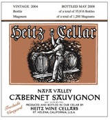 Heitz Cellar Trailside Vineyard Cabernet Sauvignon 2004