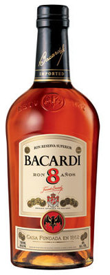 Bacardi Reserva Superior Rum 8 year old