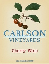 Carlson Vineyards Cherry Wine