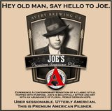 Avery Brewing Co. Joe's Premium American Pilsner