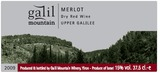 Galil Mountain Merlot 2009