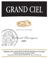 DeLille Cellars Grand Ciel 2007