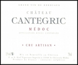 Chateau Cantegric Medoc 2008