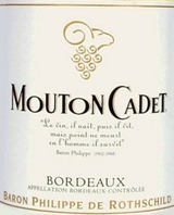 Chateau Mouton Cadet Bordeaux Blanc 2010
