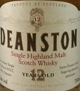 Deanston Distillery Single Malt Scotch Whisky 12 year old