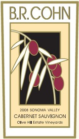 B. R. Cohn Olive Hill Estate Vineyard Cabernet Sauvignon 2008