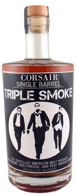 Corsair Single Barrel Triple Smoke Single Malt Whiskey
