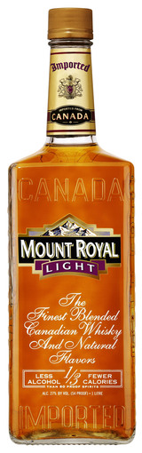 Seagram's Mount Royal Light Canadian Whiskey
