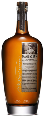 Masterson's Straight Rye Whiskey 10 year old