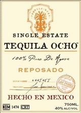 Tequila Ocho Estate Reposado