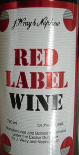 J. Wray & Nephew Red Label Wine