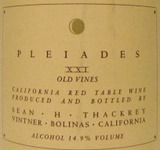 Sean Thackrey Pleiades XXI Old Vines 0