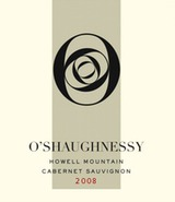 O'Shaughnessy Howell Mountain Cabernet Sauvignon 2008