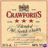Crawford's Special Reserve Blended Old Scotch Whisky
