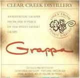 Clear Creek Distillery Pinot Grigio Grappa