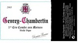 Domaine Fourrier Gevrey Chambertin Combe Aux Moines 2009