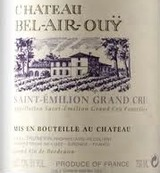 Chateau Bel Air Ouy Saint Emilion 2010