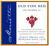 Marietta Old Vine Lot 57 Red
