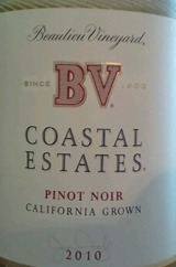 Beaulieu Vineyard Coastal Estates Pinot Noir 2010