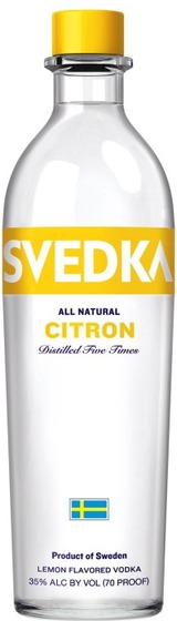 Svedka Citron Vodka 0