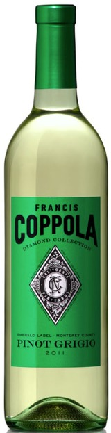 Francis Ford Coppola Diamond Series Emerald Label Pinot Grigio 2011