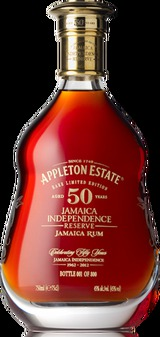 Appleton Estate Limited Edition 50 Year Old Jamaican Independence Reserve