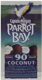Captain Morgan Parrot Bay Coconut Rum 90 Proof