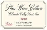 Shea Wine Cellars Shea Vineyard Estate Pinot Noir 2010