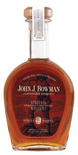 A. Smith Bowman Distillery John J. Bowman Single Barrel Straight Bourbon Whiskey