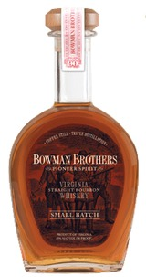 A. Smith Bowman Distillery Bowman Brothers Small Batch Straight Bourbon Whiskey