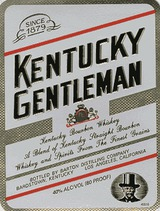 Kentucky Gentleman Kentucky Bourbon Whiskey