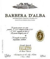 Falletto di Bruno Giacosa Barbera d'Alba 2005