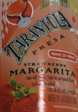 Tarantula Ready to Drink Strawberry Margarita