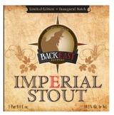 Back East Brewery Imperial Stout