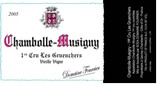 Domaine Fourrier Chambolle Musigny Les Gruenchers 2009