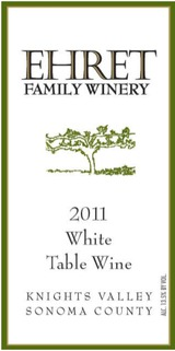 Ehret Family White Table Wine 2011
