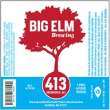 Big Elm Brewing 413 Farmhouse Ale