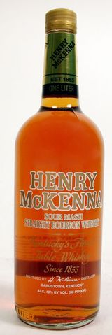 Henry McKenna Sour Mash Straight Bourbon Whiskey