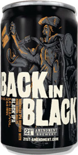 21st Amendment Brewery Back In Black IPA