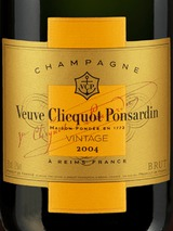 Veuve Clicquot Brut Vintage Gold Label 2004