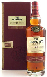 The Glenlivet Single Malt Scotch Whisky 21 year old
