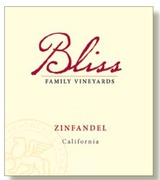 Bliss Zinfandel