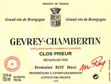 Domaine Marc Roy Gevrey Chambertin Clos Prieur 2008