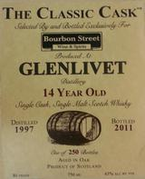 The Classic Cask Glenlivet 14 year Old 14 year old